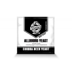 Drożdże do piwa Coobra - uniwersalne