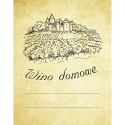 Etykiety na wino domowe (winnica)
