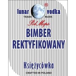 Etykiety BIMBER REKTYFIKOWANY