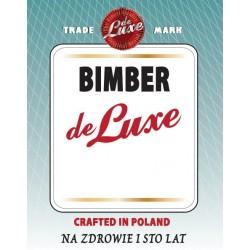 Etykieta BIMBER DE LUXE