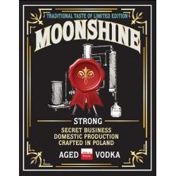 Etykieta MOONSHINE