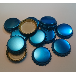 Kapsel niebieski metalizowany