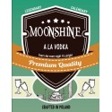Etykieta Moonshine ala Vodka
