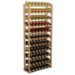 Regał na wino - 77 btl.