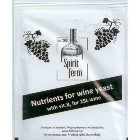Uniwersalna pożywka winiarska z wit. B