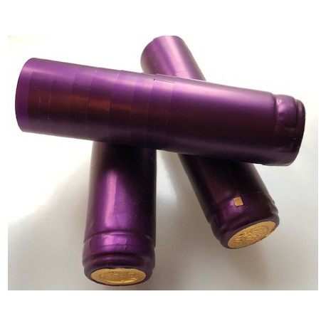 Kapturki termokurczliwe fioletowe
