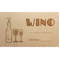 Etykiety na wino old
