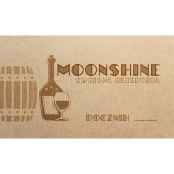 Etykieta moonshine - old