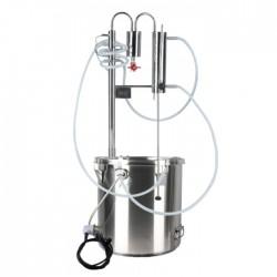Destylator alkoholu na garze 24 l -elektryczny