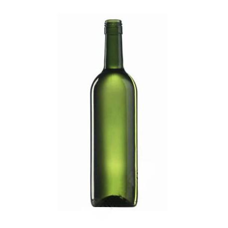 Butelka do wina 0,75 ml oliwkowa