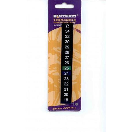 Termometr ciekłokrystaliczny samoprzylepny