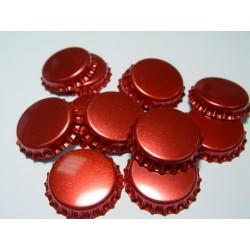 Kapsel czerwony metalizowany