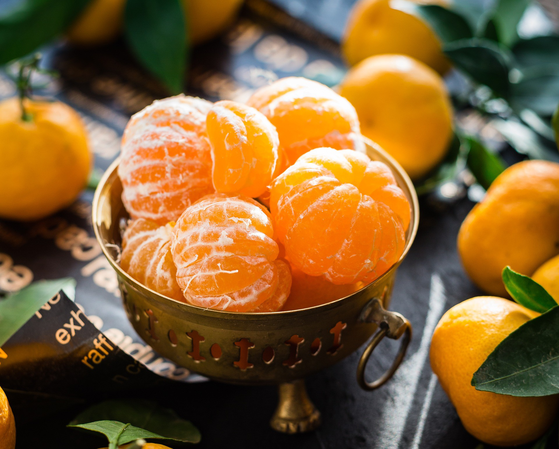 Jak zrobić słodkie białe wino z mandarynek - przepis